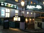 Nice Pub/Restaurant with good Czech food and prices under the building