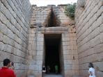 the tum of Agamemnon in Mycaene