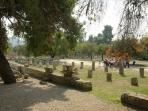 Visisting the ancient site of Olympia. 1-day tour from Harmony