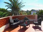 Enjoy sun rise or sun set from the Roof terrace