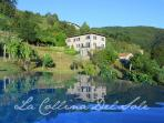 Tuscan villa and vineyard with award winning saltwater pool and Jacuzzi,