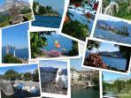 Un aperçu sur le lac et village de Mergozzo...