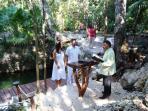 Bodas Civiles junto al Cenote y Cascada