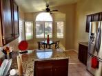 All brand new stainless steel appliances and an adorable eat in breakfast nook.