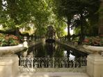 Bassin Fontaine Jardin du Luxembourg