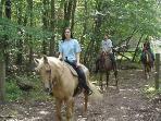 Beautiful Nature walking trails & horseback riding!