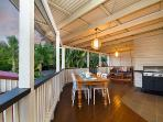 Its all about the deck! Relax, BBQ and dine out here 330 days per year.