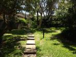 Entrance to the Townhouse strait and left, u are in Vaucluse Gardens