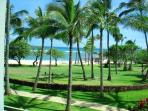 Beautiful Beach and Resort Views from our villa 205!