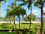 Beautiful Beach and Resort views from our villa 202!