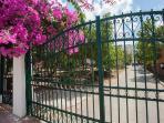 Front gate / parking access & keyless door system