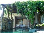 Pool and Pergola of the Delight Villa