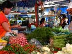 Colourful local market