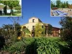 9 BR, 9 BA, Pool, Sauna, Jacuzzi, BBQ great garden