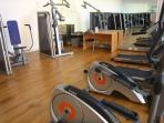 Well equipped gym. Unsupervised. For over 16s, at user's own responsibility
