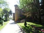 Paseo del Castillo en Sajazarra