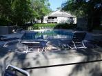 View of beautiful pool!