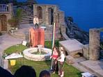 An evening at the Minack open air theatre