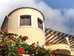 House facade (traditional Corfiot architecture)