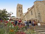 Church, farmers market and village right outside your door