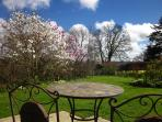 Stunning magnolias and endless views for total relaxation and breakfast on the terrace