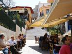 In the famous old city 'Plaka' in Athens