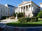 The national bibliothec in Athens