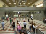 The modern Metro Station of Syntagma