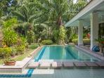 A very high end villa sleeping 6 people, beautifully furnished, huge private grounds