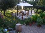 giardino privato appartamento Il Giardino