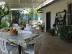 veranda pranzo esterno