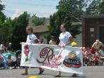 The Welland Rose Festival Grande Parade is an annual event in June