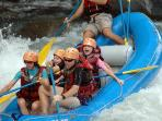 Ask us about whitewater rafting in our area!