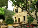 La Colombe D'Or for Al Fresco Lunch and dinner amongst some of the 20th century greatest artwork