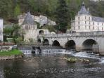 Visit Brantome known as ' The Venice of Perigord'