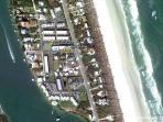 Aerial view of Pelican Inlet Condominiums