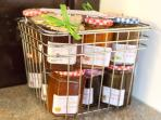 Cottage Kitchen Homemade Jams,Chutneys and Marmalades for sale
