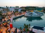 Limassol Marina with restaurants and cafes within a few mins walk