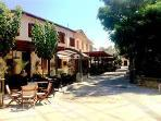 Old town with local cypriot taverns within a few mins walk