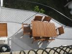 Main terrace off living room