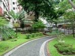 Jardins do prédio