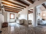 the entrance hall is centrally located and give access to all other rooms
