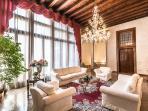 truly prestigious and authentic Venetian Tiziano Noble Floor