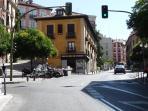 Calle Segovia leading to Plaza Mayor