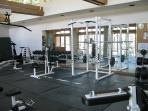 Parkview gym is accessible to fitness-conscious guests