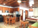 Full Kitchen, Pool, AC, Flat Screen TV, Wifi, Washing Machine, Beach level Suite