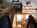 Upper Loft Staircase view