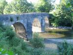 The Nantgaredig Bridge