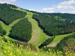 Endless hiking and mountain biking trails throughout Vail, Beaver Creek, and Arrowhead in the summer