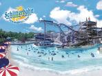 Schlitterbarn Water Park - just 20 minutes away.  Fun for the whole family!